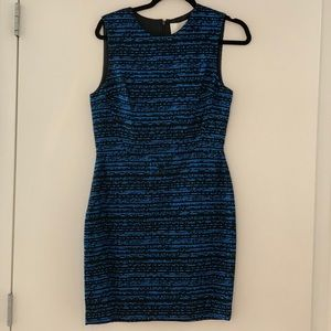 Phillip Lim blue and black structured dress